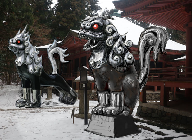 KOMAINU ―Guardian Beasts−